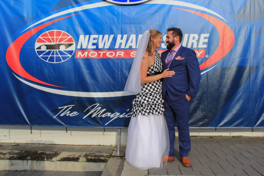 Race to the Altar: NER Couple Weds and Begins Married Life at NHMS