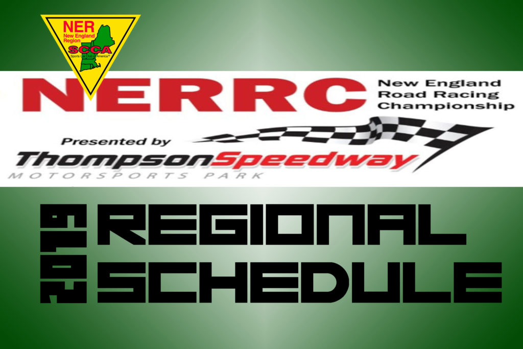 2019 NERRC Schedule Now Available