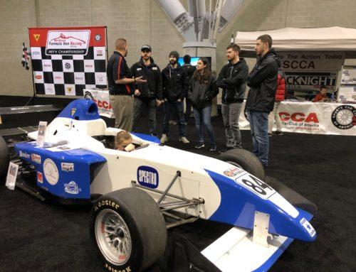 NER Represents SCCA at New England International Auto Show