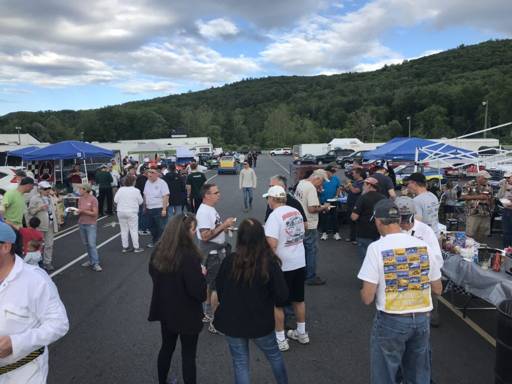 200 Cars Arrive at LRP for Paddock Crawl